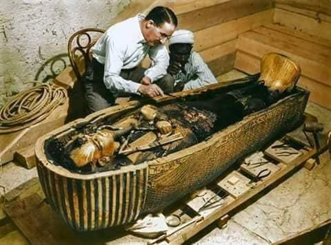 اكتشاف مقبرة توت عنخ آمون (7)