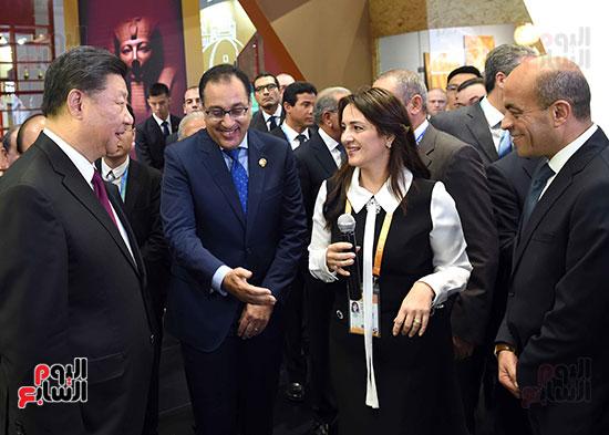 مصطفى مدبولى يفتتح الجناح المصرى بمعرض الصين الدولى للواردات بشنغهاى (17)