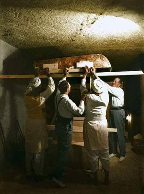 اكتشاف مقبرة توت عنخ آمون (8)