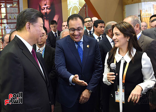 مصطفى مدبولى يفتتح الجناح المصرى بمعرض الصين الدولى للواردات بشنغهاى (16)