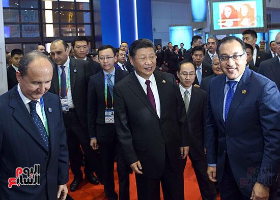 مصطفى مدبولى يفتتح الجناح المصرى بمعرض الصين الدولى للواردات بشنغهاى (5)