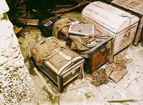 اكتشاف مقبرة توت عنخ آمون (9)
