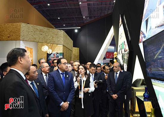 مصطفى مدبولى يفتتح الجناح المصرى بمعرض الصين الدولى للواردات بشنغهاى (14)