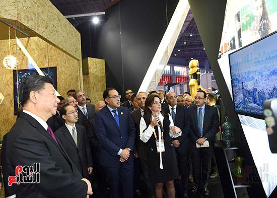 مصطفى مدبولى يفتتح الجناح المصرى بمعرض الصين الدولى للواردات بشنغهاى (10)