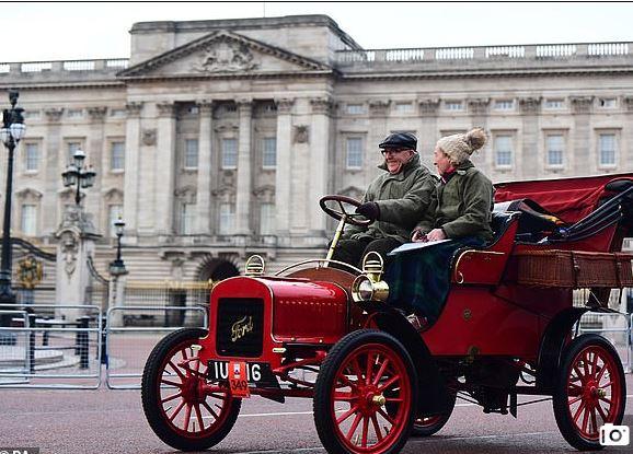 سباق السيارات فى لندن (7)