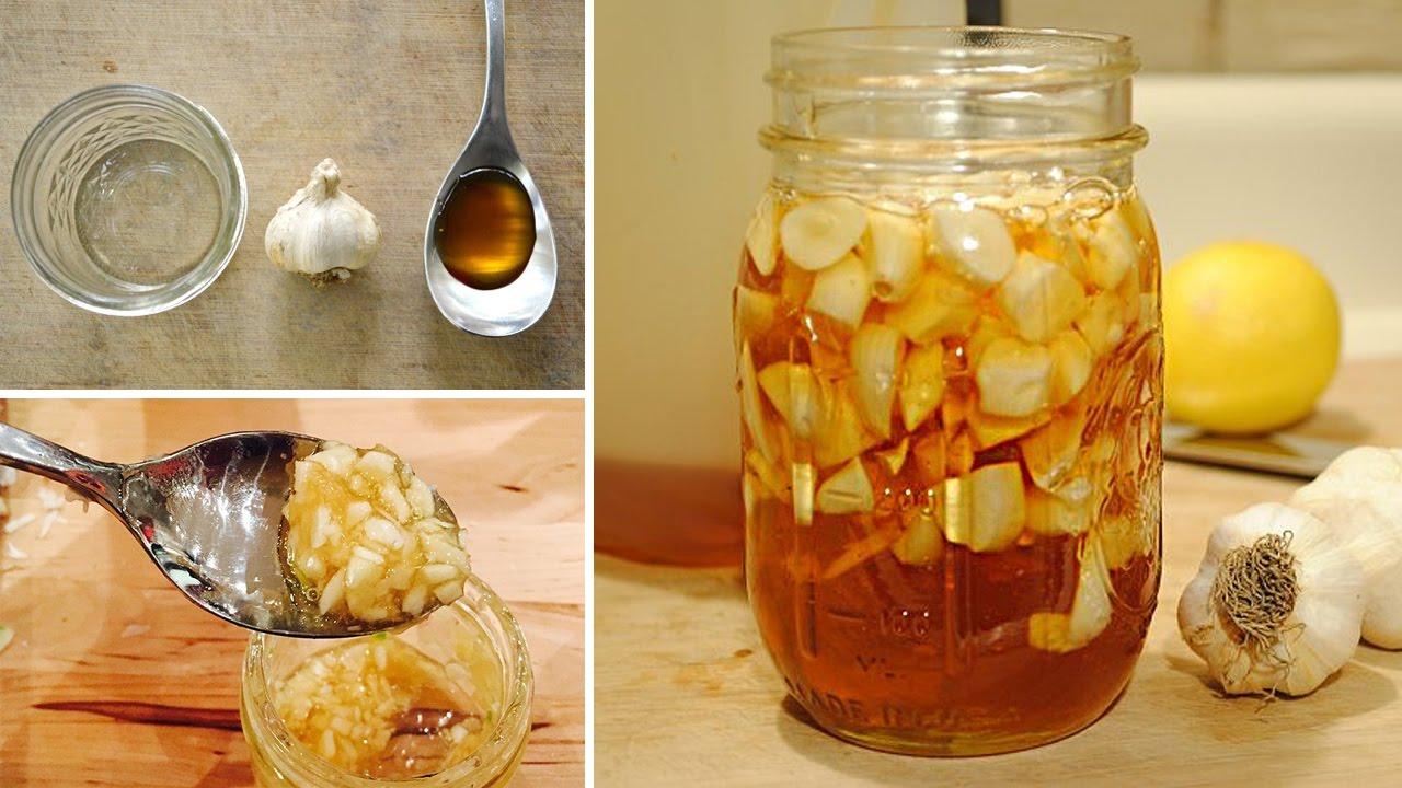 الثوم والعسل لتنظيف الرئتين