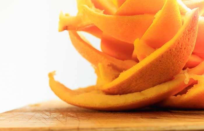 قشر البرتقال لعلاج حب الشباب