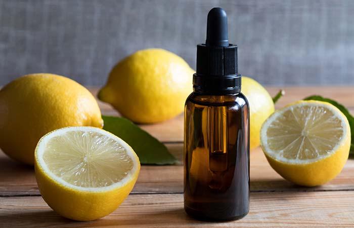 Lemon oil is a natural recipe for strengthening immunity