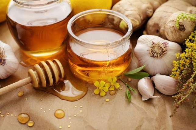 الثوم والعسل