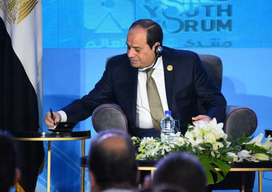 لقاء-السيسي-مع-ممثلي-وسائل-الإعلام-الأجنبي