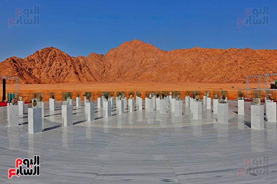 النصب التذكاري لإحياء الإنسانسية بشرم الشيخ (33)