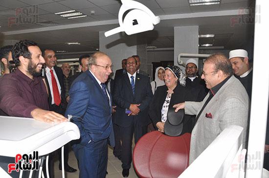 مجلس أمناء جامعة سيناء لبحث التعاون (4)