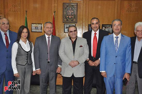 مجلس أمناء جامعة سيناء لبحث التعاون (10)