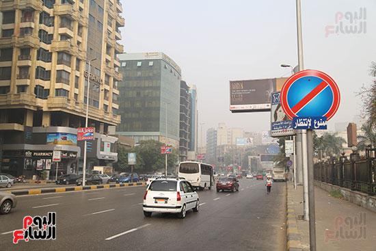 صور شبورة كثيفة تغطى سماء القاهرة والجيزة (8)
