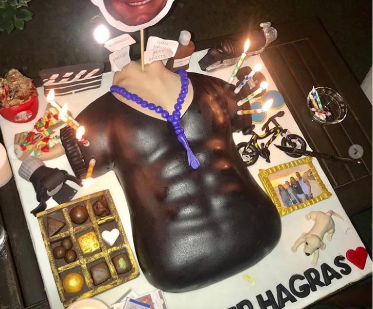 تورتة عيد ميلاد تامر هجرس