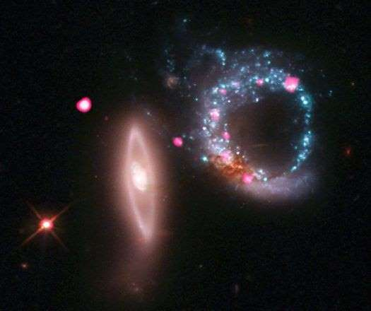صورة من ناسا لشرح الثقب الأسود