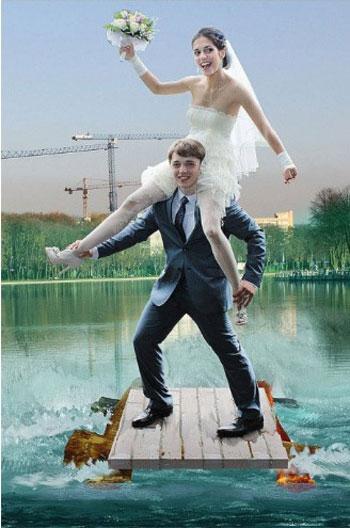 صور زفاف معدله ببرنامج الفوتوشوب (12)
