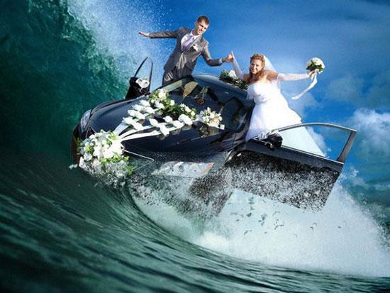 صور زفاف معدلة ببرنامج الفوتوشوب (6)