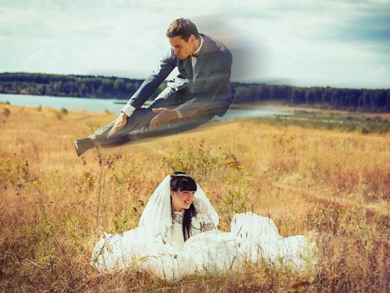 صور زفاف معدلة ببرنامج الفوتوشوب (5)