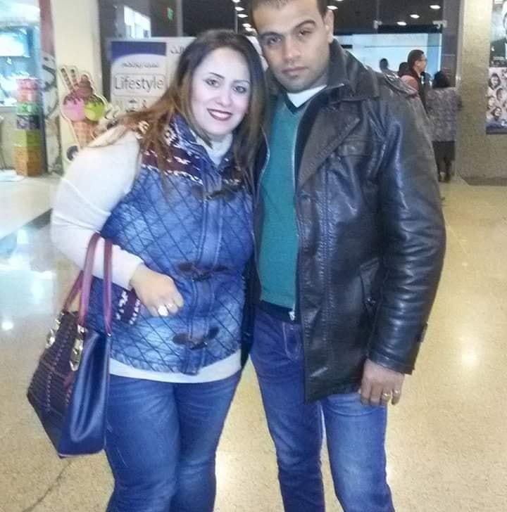باسم مع زوجته مس ريهام
