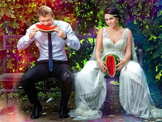 صور زفاف معدلة ببرنامج الفوتوشوب (3)
