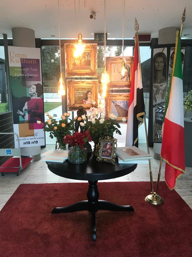 المعرض الفنى أكاديمية مصر فى روما  (3)