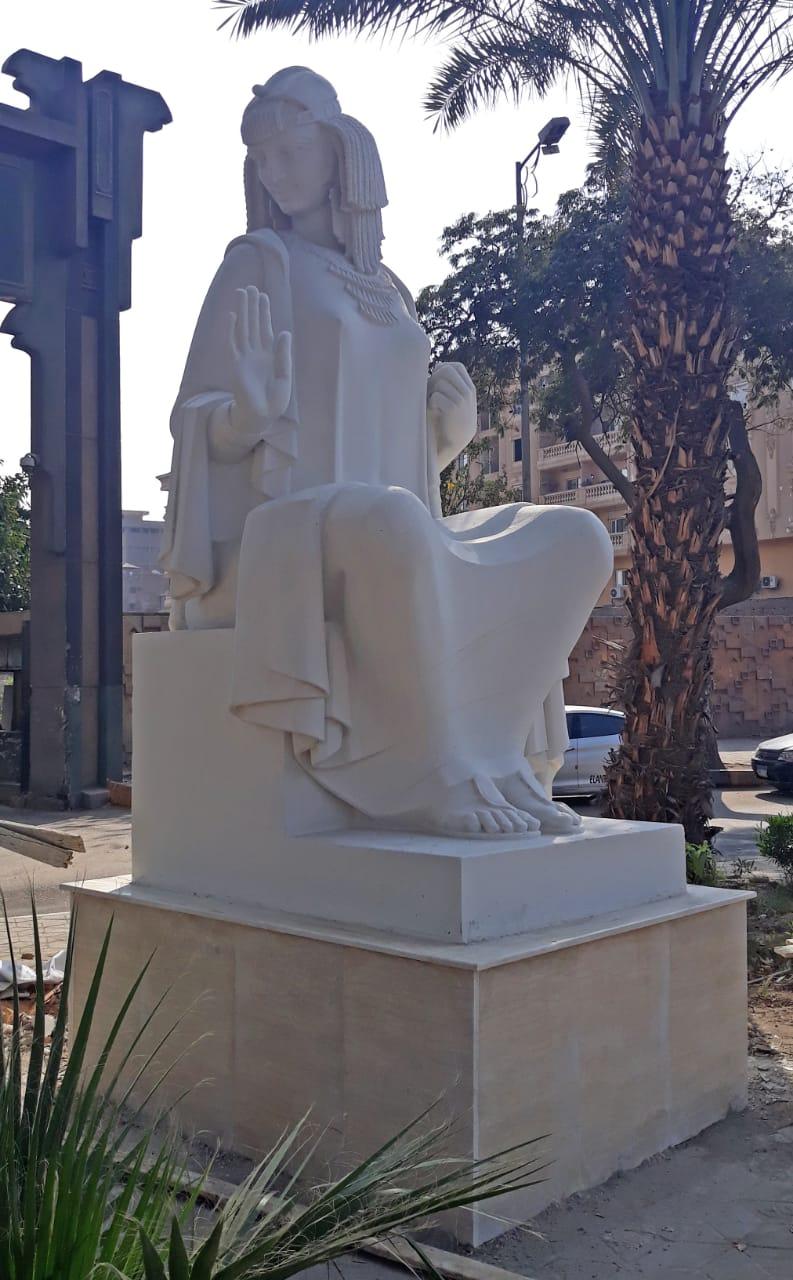 تمثال الفلاحة بعد الترميم  (4)