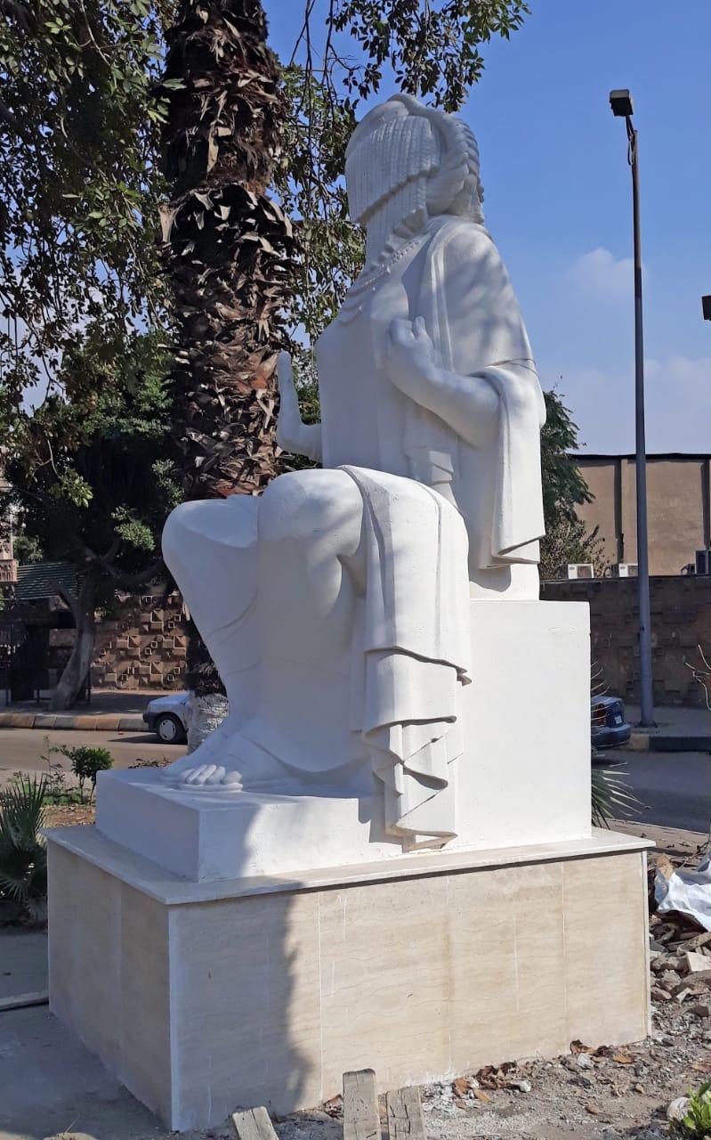 تمثال الفلاحة بعد الترميم  (2)
