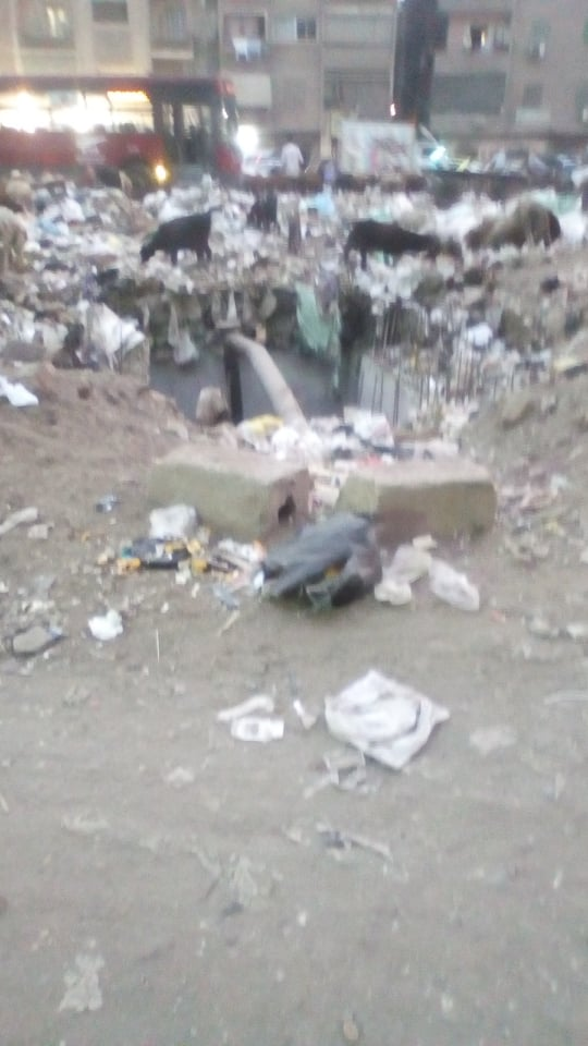 القمامة بالمسلة الجديدة