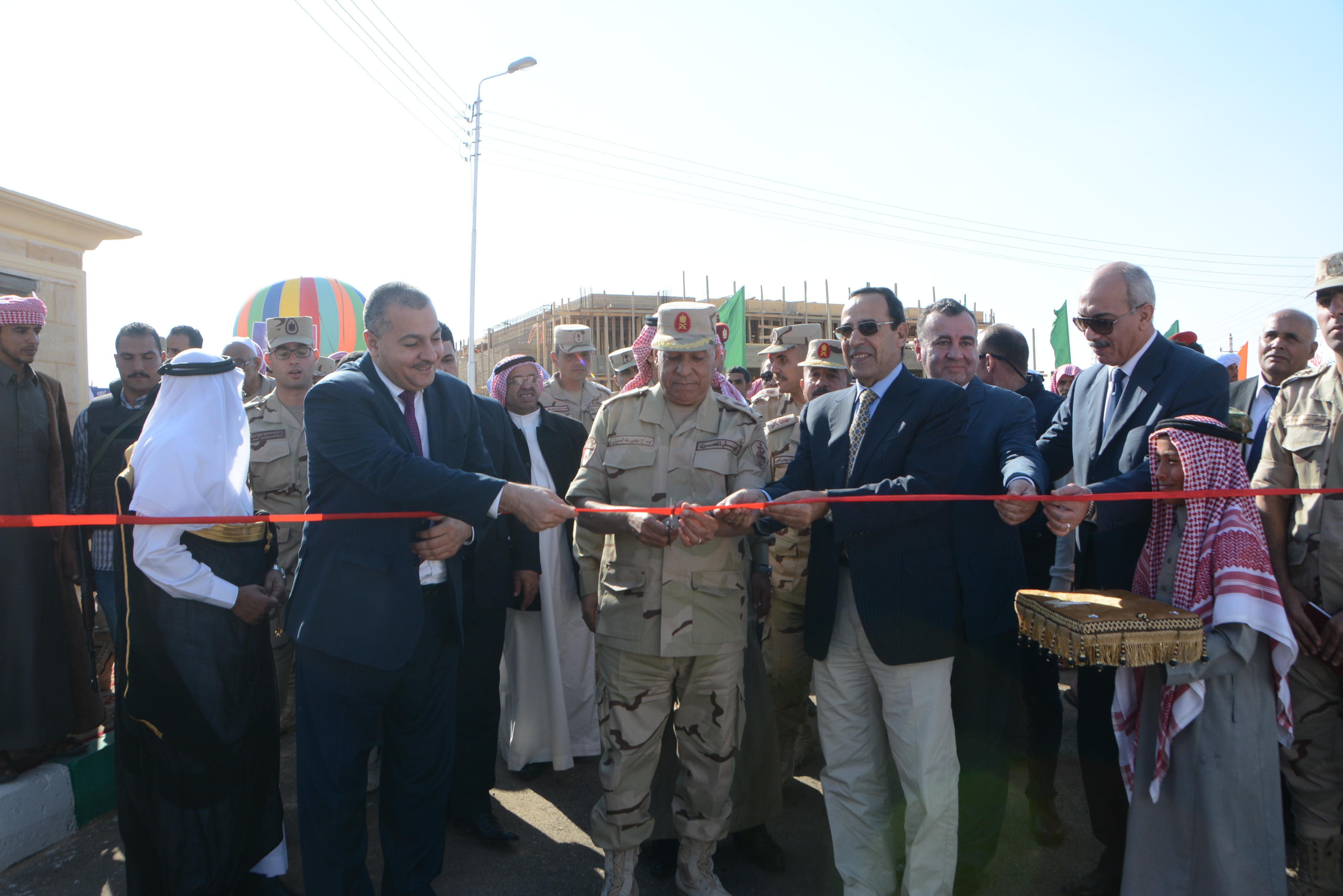 القوات المسلحة تنشئ تجمعاً حضارياً جديداً بوسط سيناء (3)