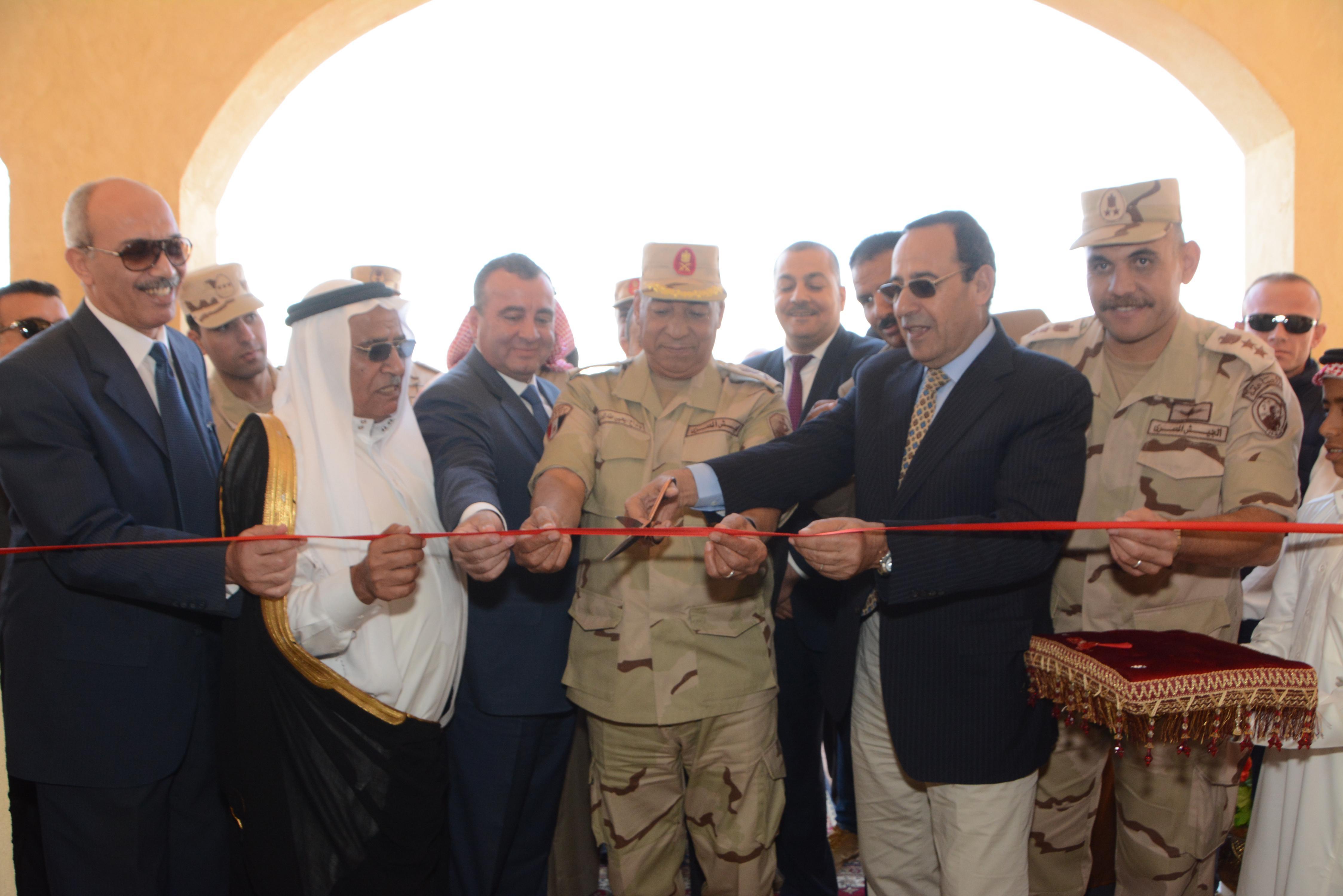 القوات المسلحة تنشئ تجمعاً حضارياً جديداً بوسط سيناء (1)