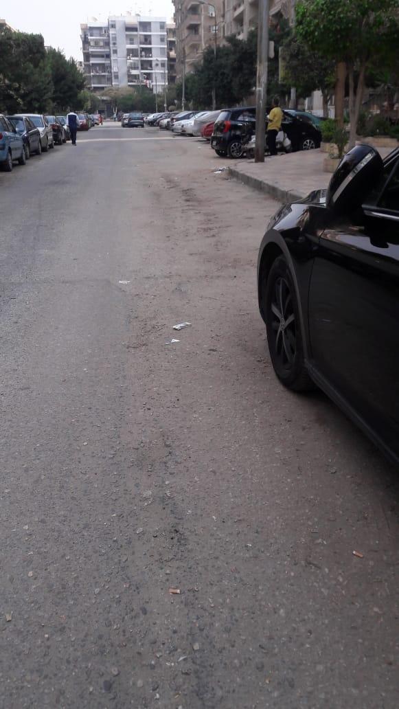 الشارع بدون مشاكل للصرف