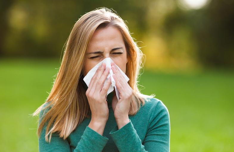 احتقان الانف من اعراض حساسية الدم