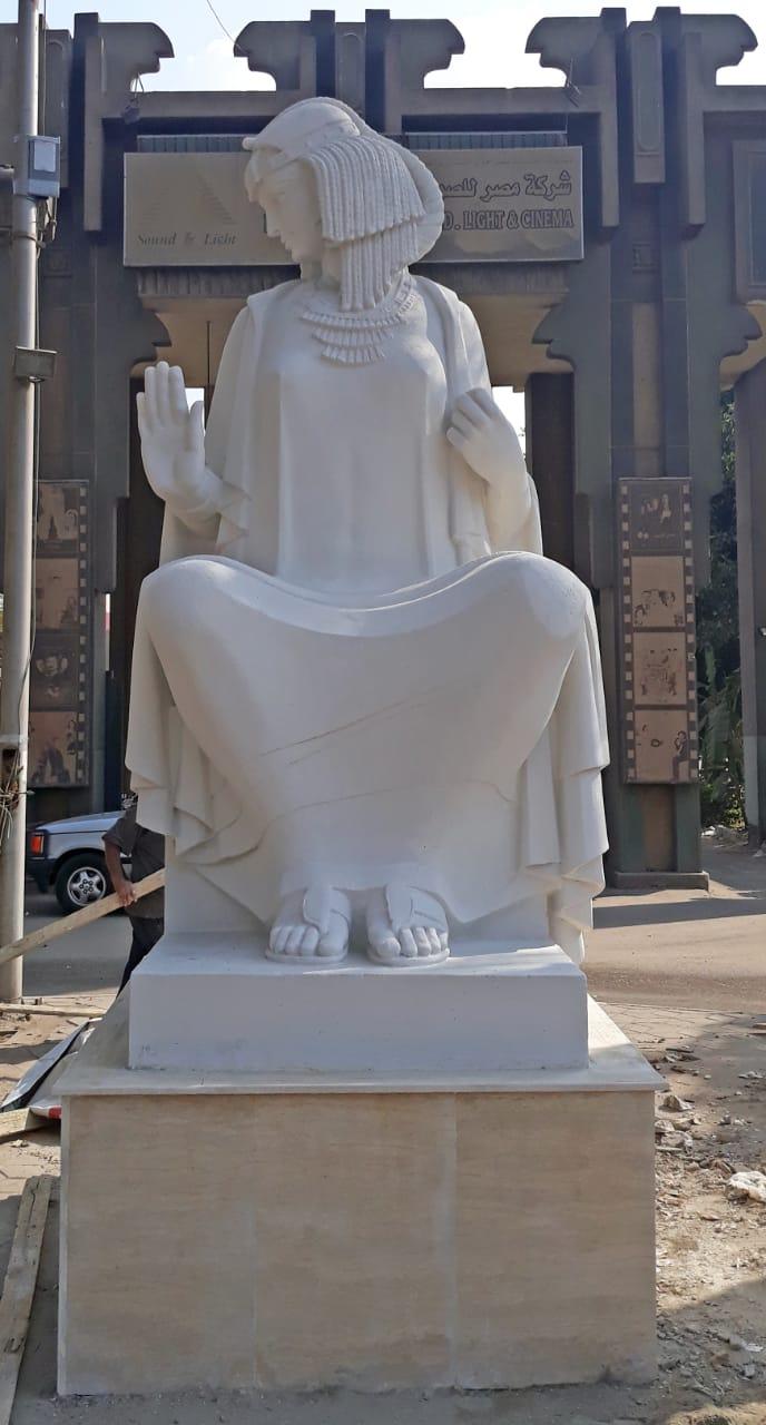 تمثال الفلاحة بعد الترميم  (1)