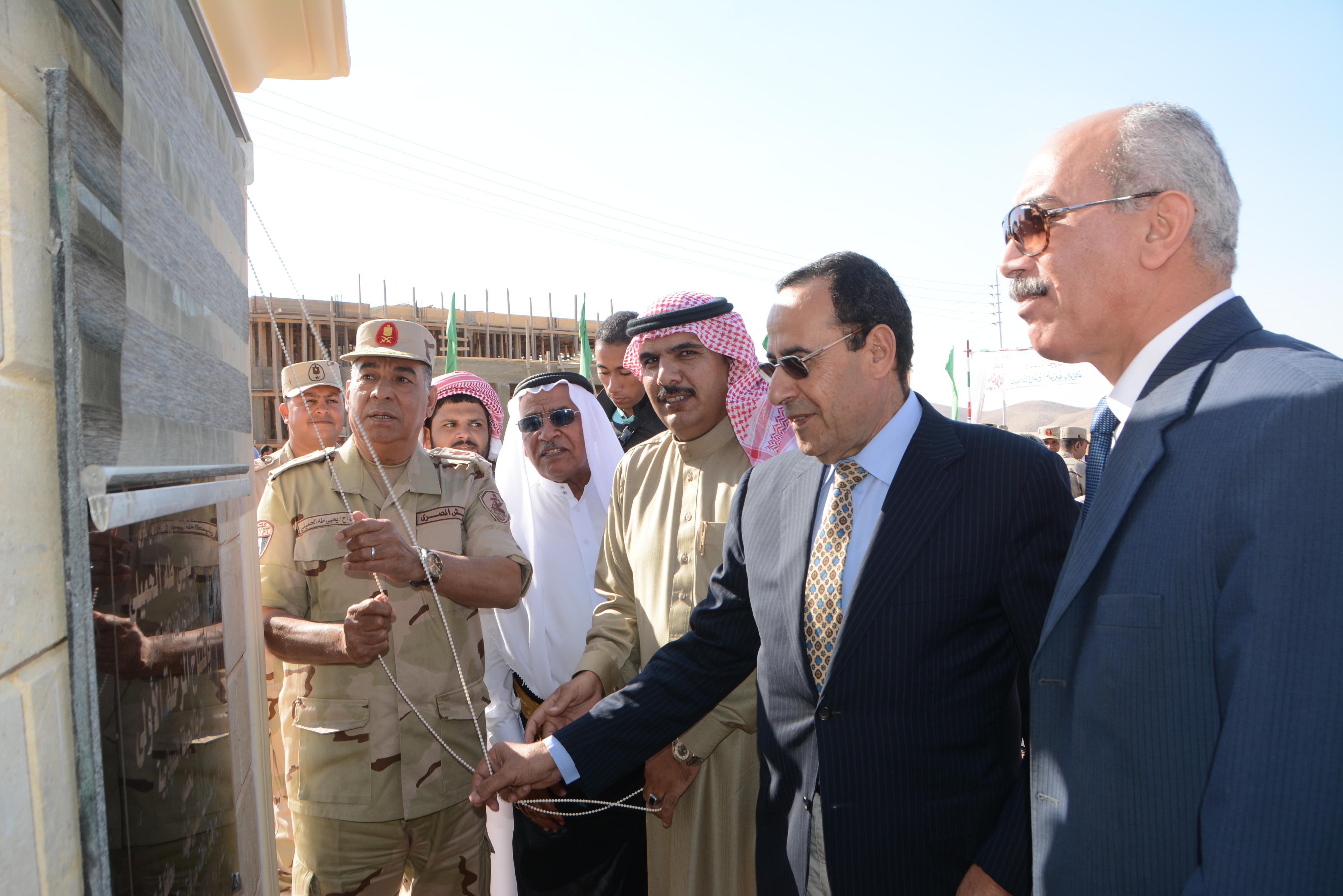 القوات المسلحة تنشئ تجمعاً حضارياً جديداً بوسط سيناء (2)