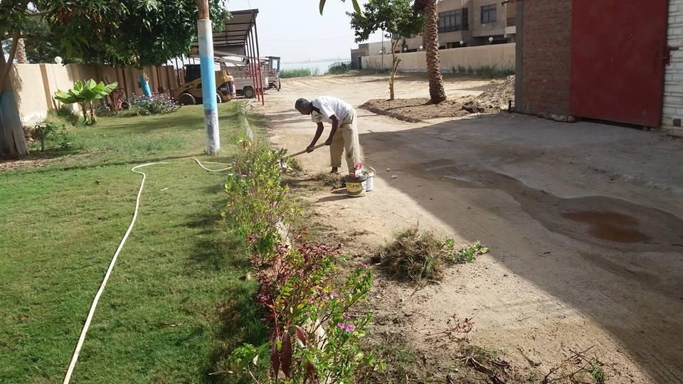 جانب من تطوير القرية