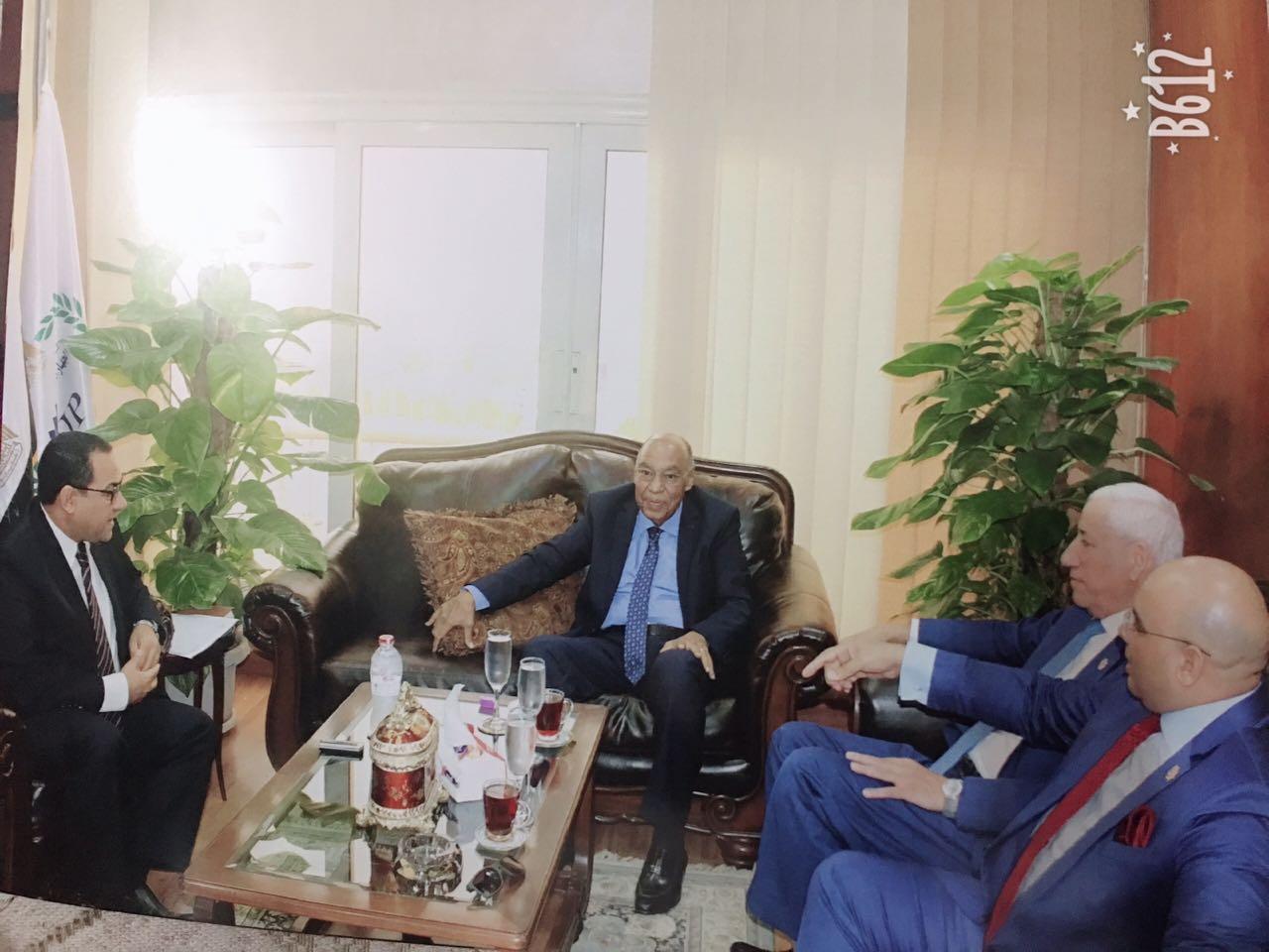 برتوكول تعاون بين قضايا الدولة و التنظيم و الادارة