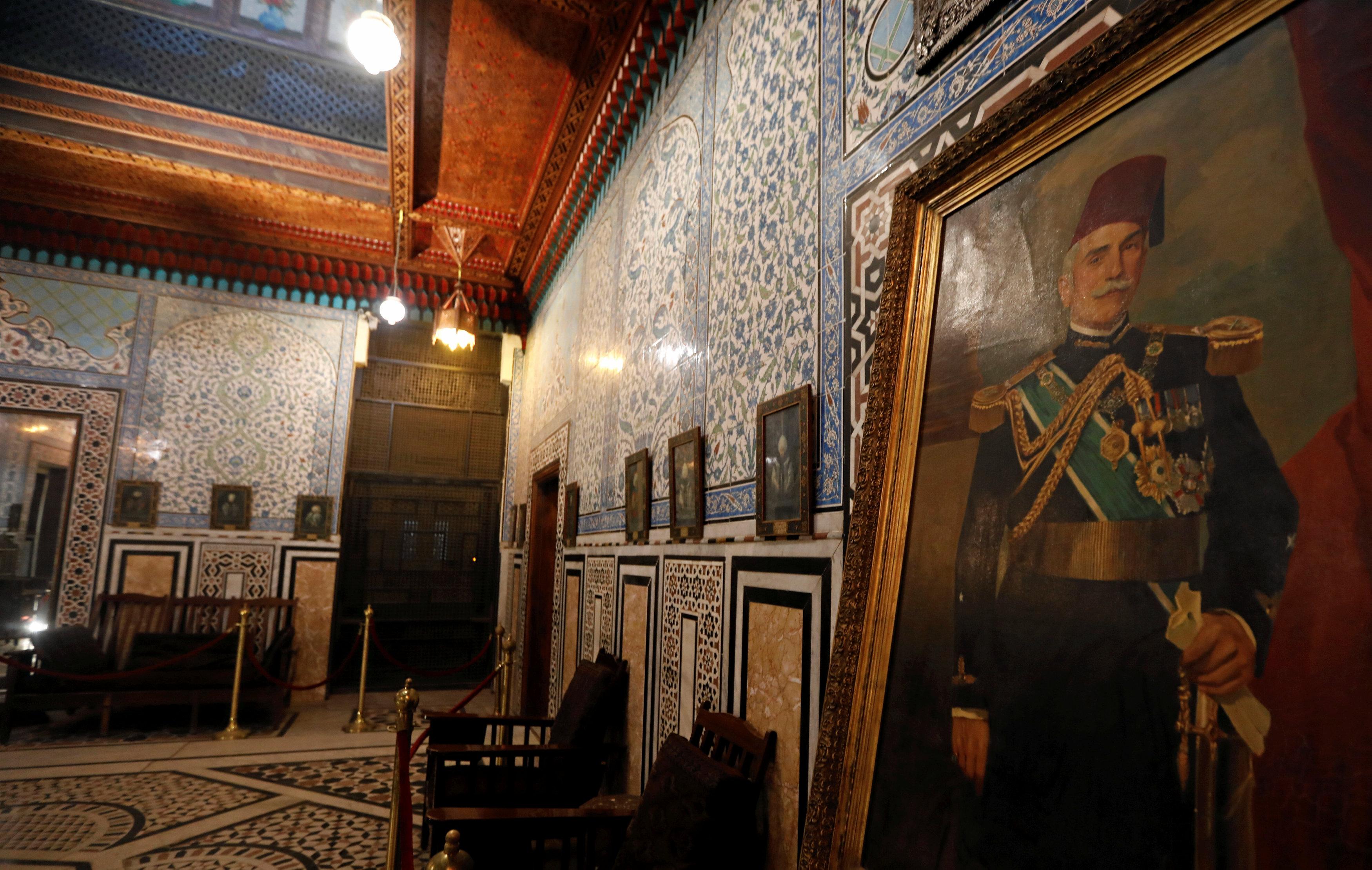 جانب من قصر الأمير محمد على بالمنيل (2)