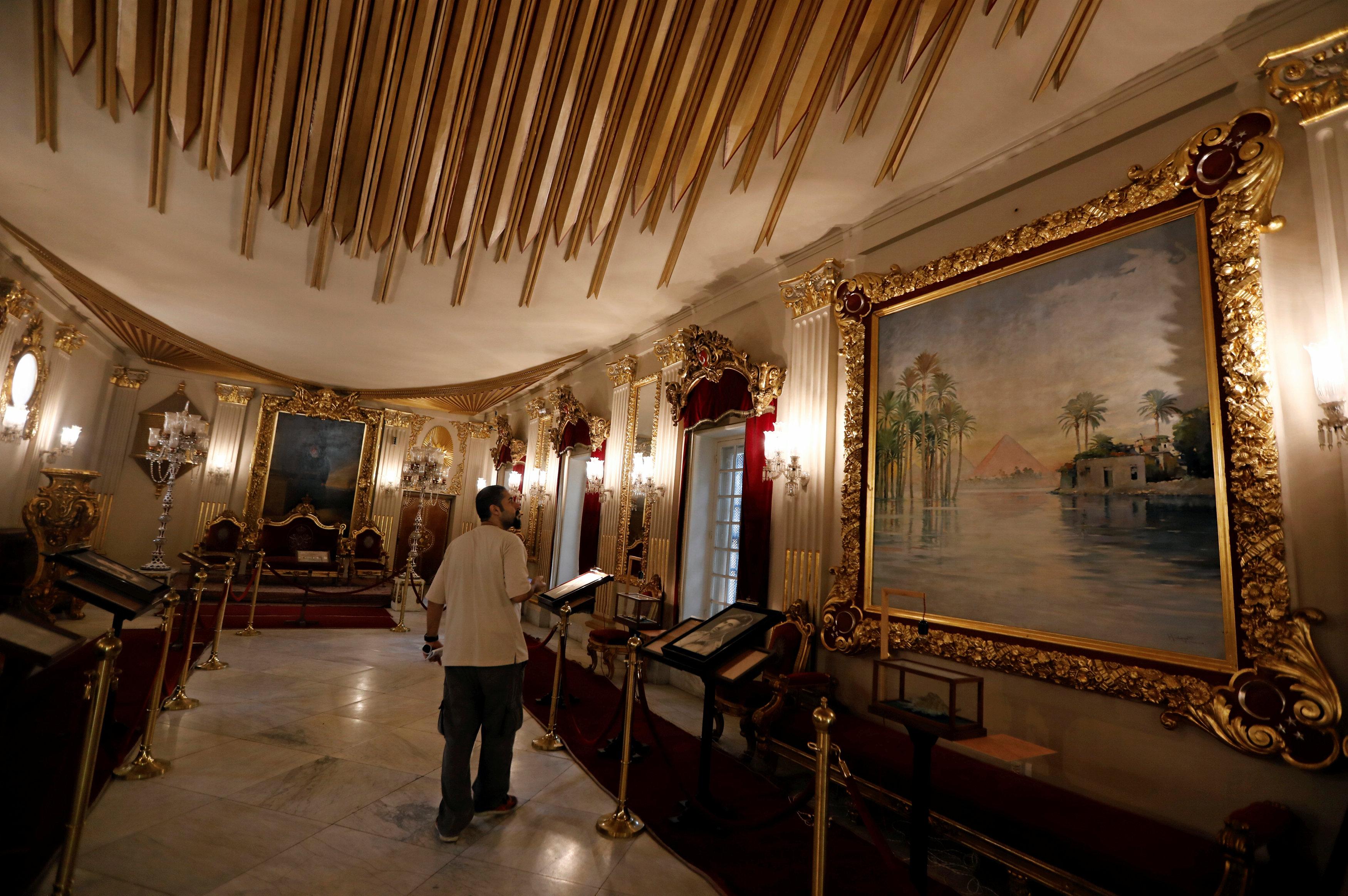 جانب من قصر الأمير محمد على بالمنيل (9)