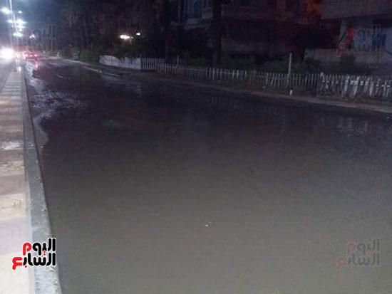 أمطار دمياط (3)