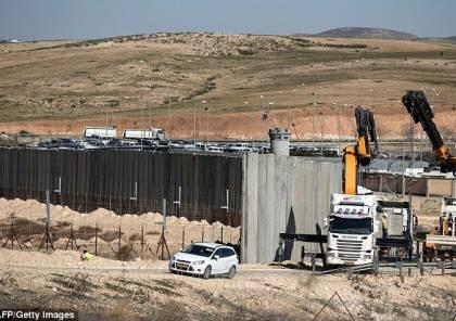 جدار غزة العازل