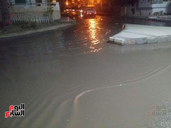 أمطار دمياط (1)
