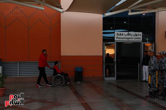 مغادرة الجمهور المصرى لتونس (15)