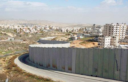 الجدار العازل