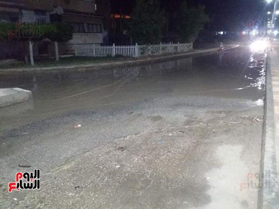 أمطار دمياط (4)