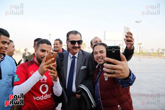 مغادرة الجمهور المصرى لتونس (9)