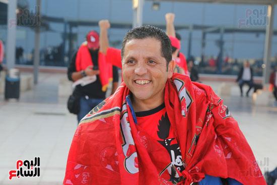 مغادرة الجمهور المصرى لتونس (19)