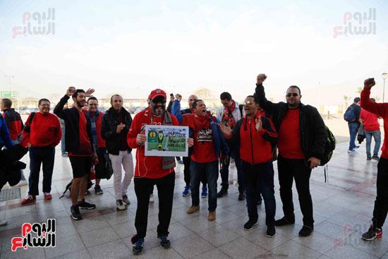 مغادرة الجمهور المصرى لتونس (12)