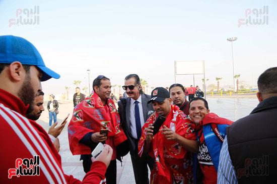 مغادرة الجمهور المصرى لتونس (6)