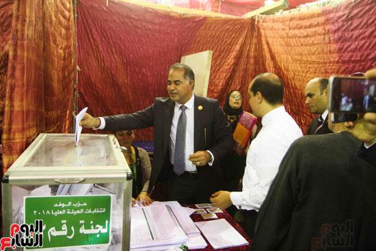 انتخابات الهيئة العليا لحزب الوفد (6)